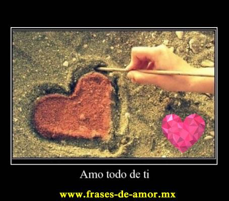 frases al amor imposible