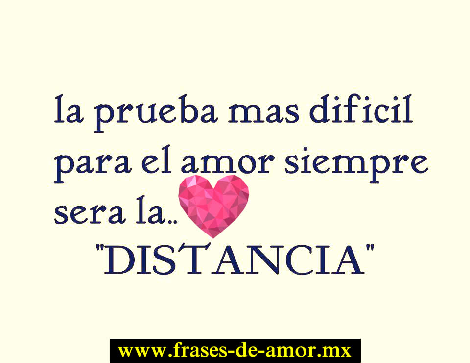 frases d amor a distancia