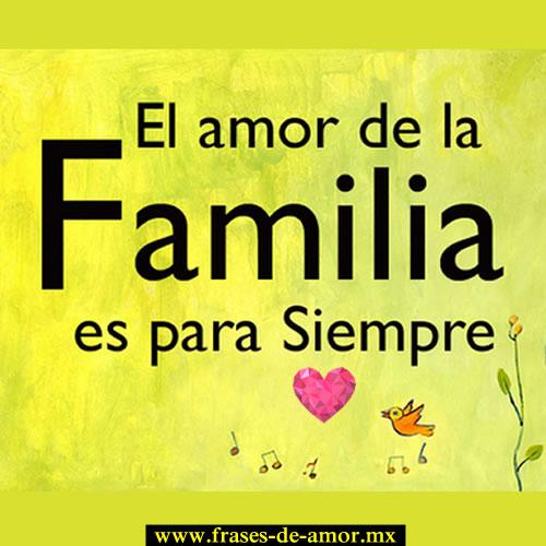 Frases De Amor Familiar