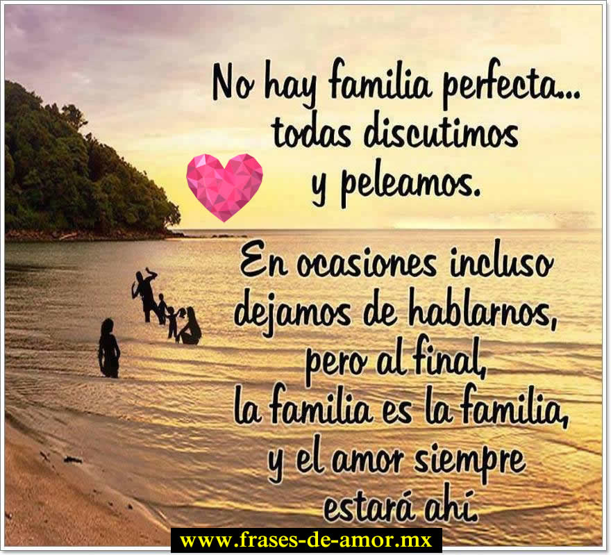 mensajes para las familias